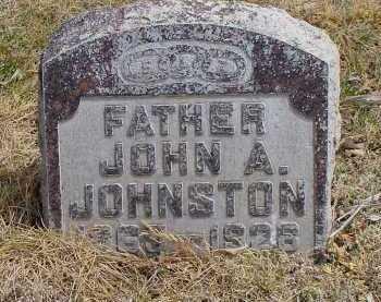 JOHNSTON, JOHN A. - Box Butte County, Nebraska | JOHN A. JOHNSTON - Nebraska Gravestone Photos