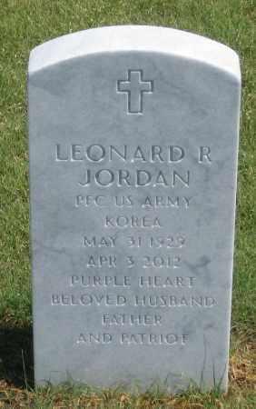 JORDAN, LEONARD  R. - Box Butte County, Nebraska | LEONARD  R. JORDAN - Nebraska Gravestone Photos