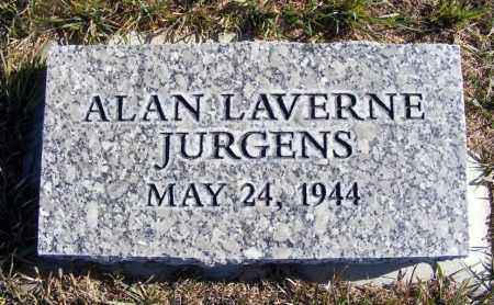 JURGENS, ALAN LAVERNE - Box Butte County, Nebraska | ALAN LAVERNE JURGENS - Nebraska Gravestone Photos