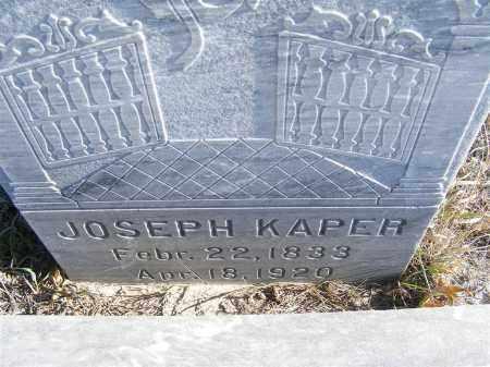 KAPER, JOSEPH - Box Butte County, Nebraska   JOSEPH KAPER - Nebraska Gravestone Photos
