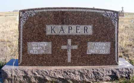 KAPER, MARY L. - Box Butte County, Nebraska | MARY L. KAPER - Nebraska Gravestone Photos