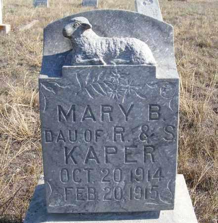 KAPER, MARY B. - Box Butte County, Nebraska | MARY B. KAPER - Nebraska Gravestone Photos