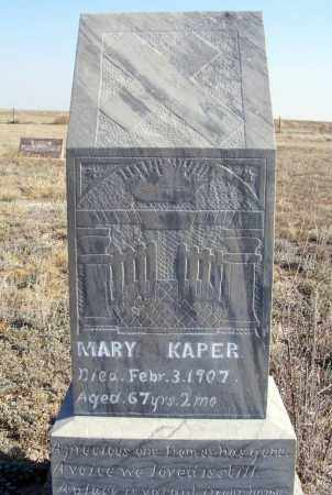 KAPER, MARY - Box Butte County, Nebraska | MARY KAPER - Nebraska Gravestone Photos
