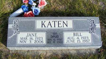 KATEN, DAVID - Box Butte County, Nebraska | DAVID KATEN - Nebraska Gravestone Photos