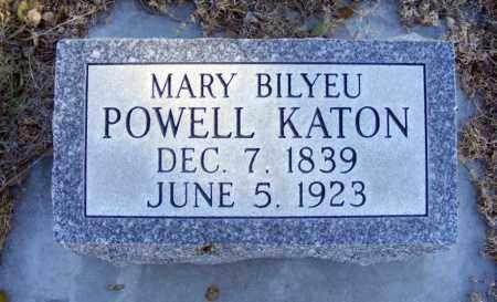 KATON, MARY BILYEU - Box Butte County, Nebraska | MARY BILYEU KATON - Nebraska Gravestone Photos