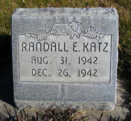 KATZ, RANDALL E. - Box Butte County, Nebraska | RANDALL E. KATZ - Nebraska Gravestone Photos