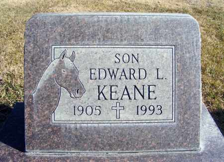 KEANE, EDWARD L. - Box Butte County, Nebraska | EDWARD L. KEANE - Nebraska Gravestone Photos