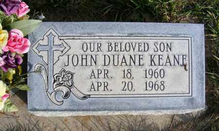 KEANE, JOHN DUANE - Box Butte County, Nebraska | JOHN DUANE KEANE - Nebraska Gravestone Photos