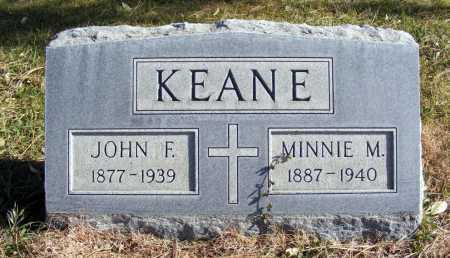 KEANE, JOHN F. - Box Butte County, Nebraska | JOHN F. KEANE - Nebraska Gravestone Photos