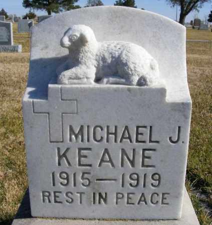 KEANE, MICHAEL J. - Box Butte County, Nebraska | MICHAEL J. KEANE - Nebraska Gravestone Photos
