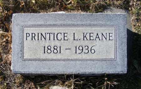 KEANE, PRINTICE L. - Box Butte County, Nebraska | PRINTICE L. KEANE - Nebraska Gravestone Photos