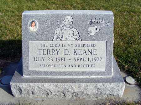 KEANE, TERRY D. - Box Butte County, Nebraska | TERRY D. KEANE - Nebraska Gravestone Photos