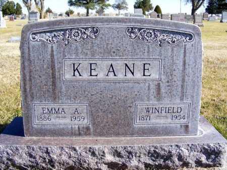 KEANE, WINFIELD - Box Butte County, Nebraska | WINFIELD KEANE - Nebraska Gravestone Photos