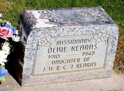 KEARNS, OLIVE - Box Butte County, Nebraska | OLIVE KEARNS - Nebraska Gravestone Photos