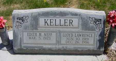 KELLER, EDITH M. - Box Butte County, Nebraska | EDITH M. KELLER - Nebraska Gravestone Photos