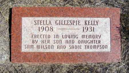 KELLY, STELLA GILLESPIE - Box Butte County, Nebraska | STELLA GILLESPIE KELLY - Nebraska Gravestone Photos