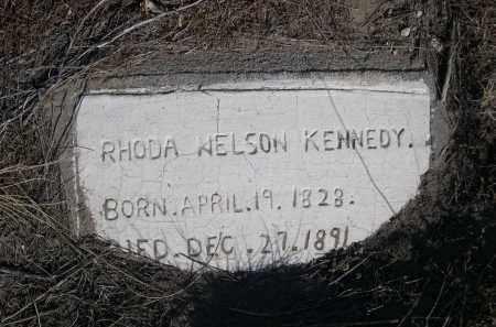 NELSON KENNEDY, RHODA - Box Butte County, Nebraska | RHODA NELSON KENNEDY - Nebraska Gravestone Photos