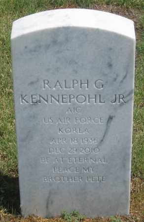 KENNEPOHL, RALPH  G. JR. - Box Butte County, Nebraska   RALPH  G. JR. KENNEPOHL - Nebraska Gravestone Photos