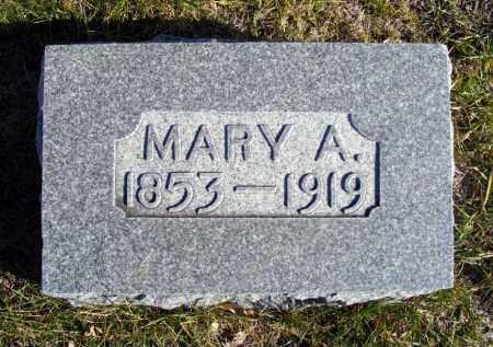 KIDWELL, MARY A. - Box Butte County, Nebraska | MARY A. KIDWELL - Nebraska Gravestone Photos