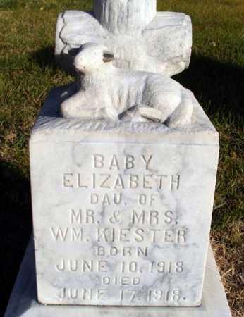 KIESTER, ELIZABETH - Box Butte County, Nebraska   ELIZABETH KIESTER - Nebraska Gravestone Photos