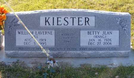 KIESTER, BETTY JEAN - Box Butte County, Nebraska   BETTY JEAN KIESTER - Nebraska Gravestone Photos