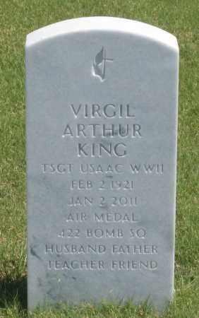 KING, VIRGIL  ARTHUR - Box Butte County, Nebraska | VIRGIL  ARTHUR KING - Nebraska Gravestone Photos