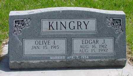KINGRY, EDGAR J. - Box Butte County, Nebraska | EDGAR J. KINGRY - Nebraska Gravestone Photos