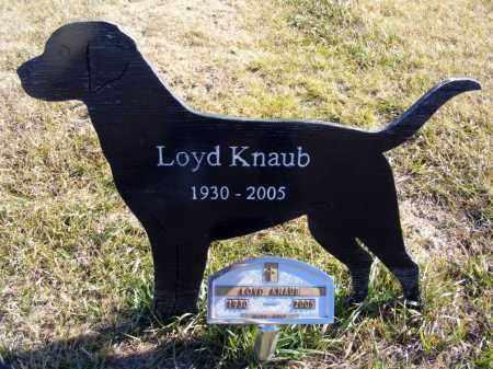 KNAUB, LOYD - Box Butte County, Nebraska | LOYD KNAUB - Nebraska Gravestone Photos