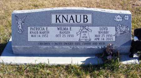 KNAUB, WILMA E. - Box Butte County, Nebraska | WILMA E. KNAUB - Nebraska Gravestone Photos
