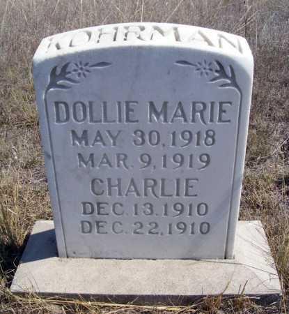 KOHRMAN, DOLLIE MARIE - Box Butte County, Nebraska | DOLLIE MARIE KOHRMAN - Nebraska Gravestone Photos