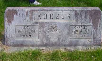 KOOZER, LUCY - Box Butte County, Nebraska | LUCY KOOZER - Nebraska Gravestone Photos