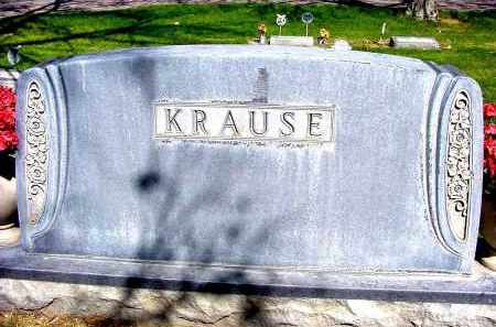 KRAUSE, FAMILY - Box Butte County, Nebraska | FAMILY KRAUSE - Nebraska Gravestone Photos