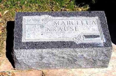 KRAUSE, MARCELLA - Box Butte County, Nebraska | MARCELLA KRAUSE - Nebraska Gravestone Photos