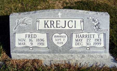 KREJCI, HARRIET T. - Box Butte County, Nebraska   HARRIET T. KREJCI - Nebraska Gravestone Photos