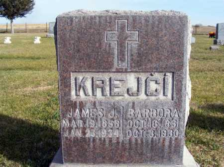 KREJCI, JAMES J. - Box Butte County, Nebraska | JAMES J. KREJCI - Nebraska Gravestone Photos
