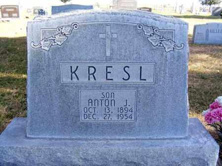 KRESL, ANTON J. - Box Butte County, Nebraska | ANTON J. KRESL - Nebraska Gravestone Photos