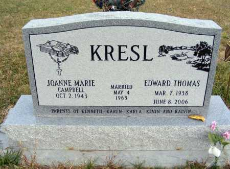 CAMPBELL KRESL, JOANNE MARIE - Box Butte County, Nebraska | JOANNE MARIE CAMPBELL KRESL - Nebraska Gravestone Photos