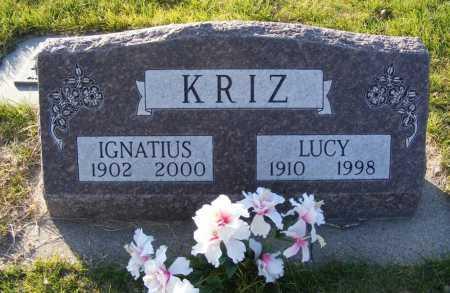 KRIZ, LUCY - Box Butte County, Nebraska   LUCY KRIZ - Nebraska Gravestone Photos