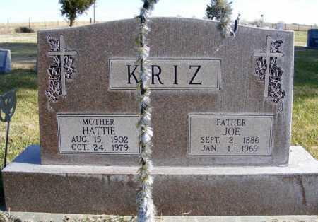 KRIZ, JOE - Box Butte County, Nebraska | JOE KRIZ - Nebraska Gravestone Photos