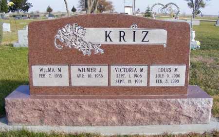 KRIZ, VICTORIA M. - Box Butte County, Nebraska | VICTORIA M. KRIZ - Nebraska Gravestone Photos