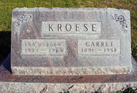 KROESE, GARRETT - Box Butte County, Nebraska | GARRETT KROESE - Nebraska Gravestone Photos