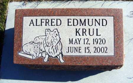 KRUL, ALFRED EDMUND - Box Butte County, Nebraska | ALFRED EDMUND KRUL - Nebraska Gravestone Photos