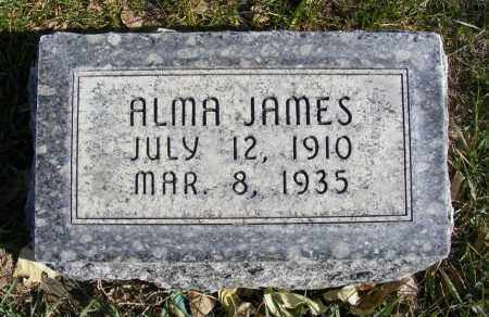 KRUL, ALMA JAMES - Box Butte County, Nebraska | ALMA JAMES KRUL - Nebraska Gravestone Photos
