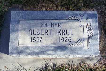 KRUL, ALBERT - Box Butte County, Nebraska | ALBERT KRUL - Nebraska Gravestone Photos