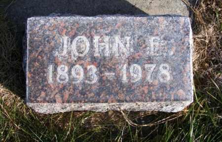 KUHN, JOHN E. - Box Butte County, Nebraska | JOHN E. KUHN - Nebraska Gravestone Photos