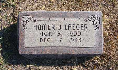 LAEGER, HOMER J. - Box Butte County, Nebraska | HOMER J. LAEGER - Nebraska Gravestone Photos