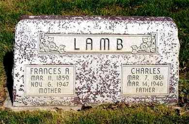 LAMB, CHARLES - Box Butte County, Nebraska | CHARLES LAMB - Nebraska Gravestone Photos