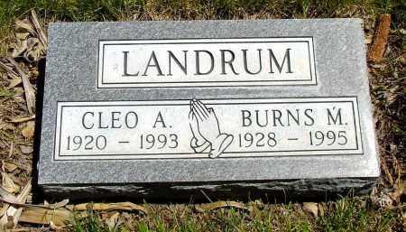 LANDRUM, CLEO A. - Box Butte County, Nebraska   CLEO A. LANDRUM - Nebraska Gravestone Photos