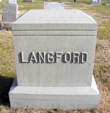 LANGFORD, FAMILY - Box Butte County, Nebraska | FAMILY LANGFORD - Nebraska Gravestone Photos