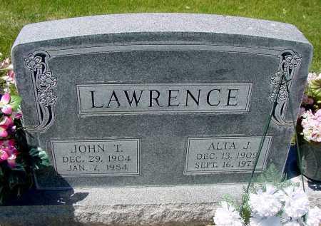 HULSHIZER LAWRENCE, ALTA J. - Box Butte County, Nebraska | ALTA J. HULSHIZER LAWRENCE - Nebraska Gravestone Photos
